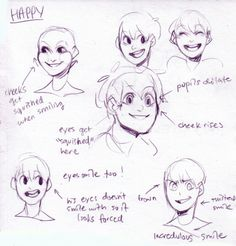 the afterlife - Expressions Tutorial (Happy)