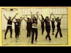 """Rabiosa"" by Shakira (an ""old"" favorite! :) One of the first routines I really got down.)"