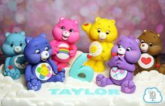 We celebrated a Happy Birthday yesterday for our SWEET girl, Taylor! Here is a peek at her requested Care Bear. Happy 6th Birthday, 4th Birthday Cakes, Care Bears, Cupcakes, Cupcake Cookies, Care Bear Cakes, Biscuit, Animal Cakes, Fondant Decorations