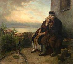 Carl Wilhelm Hubner, Mourning Their Loss