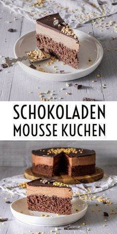 share cooking recipes like cake, cookies, dessert, appetizers and other delicious dishes recipes Chocolate Mousse Pie, Mousse Cake, Chocolate Desserts, Cake Chocolate, Cupcake Recipes, Baking Recipes, Cupcake Cakes, Dessert Recipes, Pasta Recipes