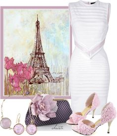 """Pretty Paris"" by christa72 ❤ liked on Polyvore"