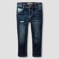 Toddler Boys' Jeans - Dark Blue