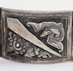 Antique bat bracelet