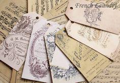 ❥ vintage style tags