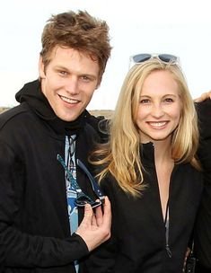 The Vampire Diaries: Zach Roerig and Candice Accola