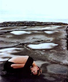 Carmen Kass for Allure December 1998 by John Akehurst.