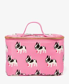 French Bulldog Cosmetic Bag   FOREVER21 - 1048889803
