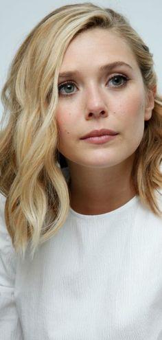 Elisabeth Olsen-  Avengers: Age Of Ultron Press Conference in Burbank