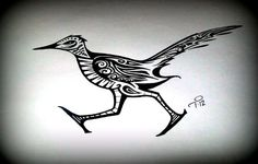 roadrunner bird tattoo - Google Search