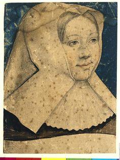 Portrait de Marguerite d'Autriche  Description :  Début 16e siècle  Author :  Van Orley Barend (vers 1488-1541)