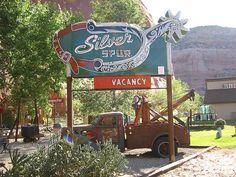 Silver Spur Hotel - Moab, Utah - Vintage Neon Sign