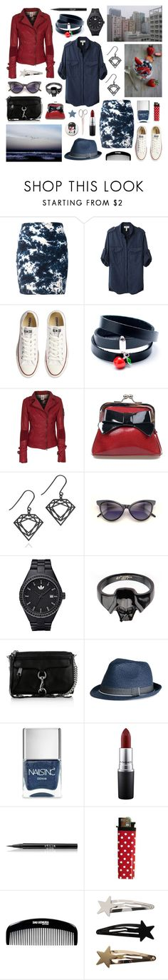 """""""got lost into the sea"""" by surma ❤ liked on Polyvore featuring Indigo Child, Étoile Isabel Marant, Converse, True Religion, Sourpuss, Wildfox, adidas, Rebecca Minkoff, Nails Inc. and MAC Cosmetics"""