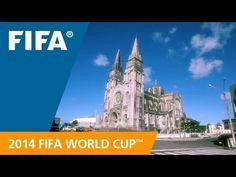 Lindeza! É assim que a Fifa apresenta Fortaleza para o mundo! World Cup Host City: Fortaleza Jamilcredi Consignados na torcida!