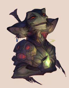 Goblin Mage by nicholaskole on DeviantArt