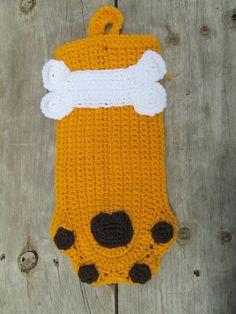 Doggie Stocking-Ready to Ship. $16.00, via Etsy.