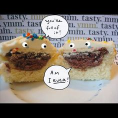 You're full of it! #StuffedCupcakes