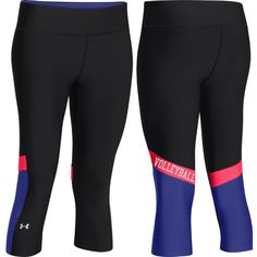 NEW at All Volleyball! Under Armour Volleyball Alpha Capri - Neo Pulse $39.99