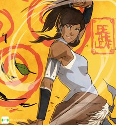 Air Korra by dCTb.deviantart.com on @DeviantArt