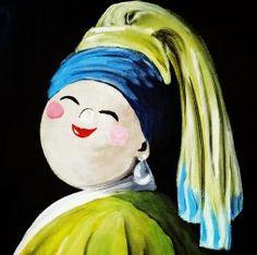 Die Bilder, die Sie in der . Easy Paintings, Beautiful Paintings, Color Pencil Art, True Art, Anime Art Girl, Whimsical Art, Medium Art, Painted Rocks, Cool Art