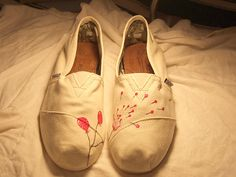 accessorize your TOMS, i think is a cool idea that can be a little addicting.