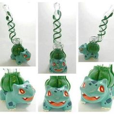 I want!!! stoner pokemon bulbasaur bong so cool :)