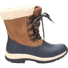 Muck Boot Women's Arctic Apres Lace Mid Winter Boots, Size: 10, Brown