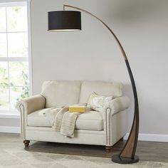 """Mikonos 77"""" LED Arched Floor Lamp"""