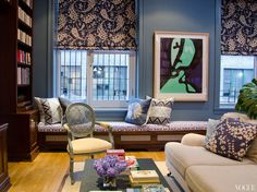 {celebrity houses} Patricia Herrera Lansing's New York Apartment - TheFashioniStyle