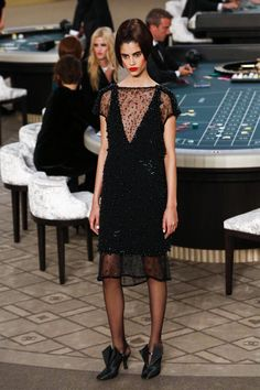 Chanel Couture Fall Winter 2015 Paris - NOWFASHION