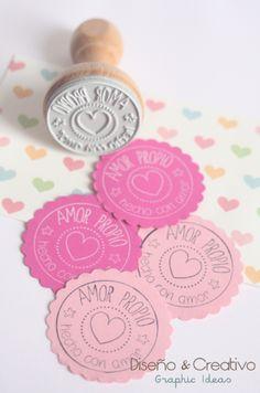 #amorpropio #sello de diseño #personalizado  www.facebook.com/designandcreativo