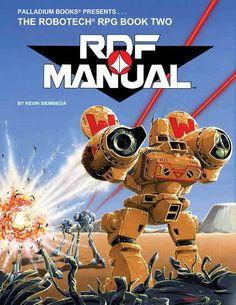 Robotech® RDF Manual Sourcebook, 1987 Edition - Palladium Books   Robotech RPG   DriveThruRPG.com
