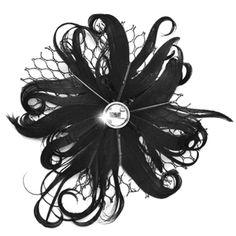 Feather Hair Clip $5