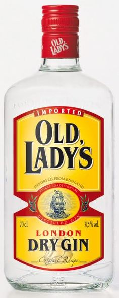 marque de gin : Old-lady's Gins Of The World, Old Women, Vodka Bottle, Whiskey, Bottles, Champagne, Alcohol, Clock, Packaging