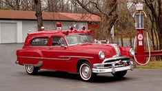 1953 Pontiac Chieftain ambulance