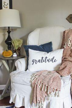 DIY Gratitude Lumbar