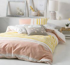 Linen House Australia are the leaders in Bed Linen, Quilt Cover Sets & Homewares. Shop our huge range of fashion quilt covers, sheets Online today! Bedroom Colour Palette, Bedroom Colors, Linen Bedding, Bedding Sets, Home Office, Bed Linen Australia, Hotel Collection Bedding, Online Bedding Stores, Black Bed Linen