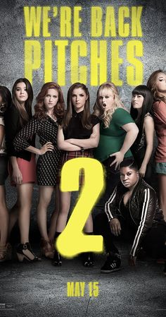 Directed by Elizabeth Banks.  With Anna Kendrick, Rebel Wilson, Hailee Steinfeld, Brittany Snow. After a humiliating command performance at The Kennedy Center, the Barden Bellas enter an international competition that no American group has ever won in order to regain their status and right to perform.