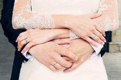 Hermosa foto de la boda real de Mónica & Daniel {Foto, Marga Gómez} #realwedding #spain