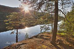 Maisema Pielinen ja Kolin vaaroja. Landscape Lake Pielinen and Koli mountains in Finland.Photo Ismo Pekkarinen #finland #kesä #maisema #koli #nature #landscape #summer
