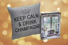 Pfister Adventskalender 2015. Jetzt mitmachen! Keep Calm, Champagne, Throw Pillows, Cushions, Stay Calm, Decorative Pillows, Decor Pillows, Scatter Cushions