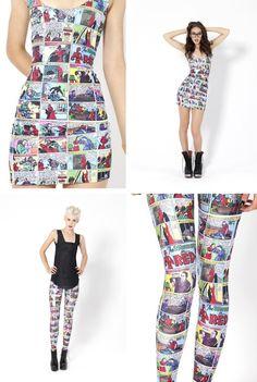 comic clothes