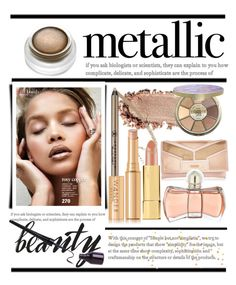 """""""Shine On.... Metallic Makeup"""" by conch-lady ❤ liked on Polyvore featuring beauty, Sanders, Kevyn Aucoin, Anastasia Beverly Hills, tarte, Wander Beauty, Guerlain, rms beauty, ShineOn and metallicmakeup"""