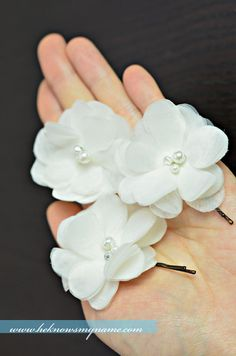 Wedding Accessory Bridal Hair Petite Cherry by heknowsmyname, $39.00
