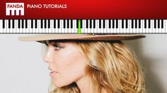 """Rachel Platten - """"Fight Song"""" (How To Play Piano Tutorial Chords & Melody)"""