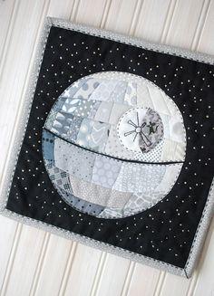death star patchwork More