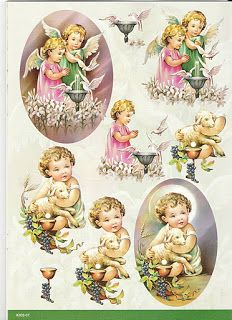 Au Fil Des Pages ...: Feuilles 3D Decoupage Vintage, Vintage Cards, Vintage Images, Image Jesus, Image 3d, Diy And Crafts, Paper Crafts, 3d Sheets, 3d Christmas