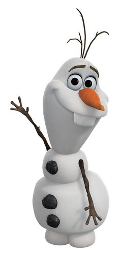 Olaf is the enchanted snowman and a major character in Disney's 2013 animated feature film Frozen. In early versions of the movie, Olaf was supposed to be one of the first guards of Elsa's castle when the concept of Elsa controlling a legion of menacing snowmen was still in the story (notably, the only snowman minion to remain in the film would be Marshmallow). Chris Buck compared that version of the character to a trial run of someone's first pancake where the cook throws out the pancake...