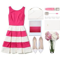 How To Wear Peony n Pink Outfit Idea 2017 - Fashion Trends Ready To Wear For Plus Size, Curvy Women Over 20, 30, 40, 50