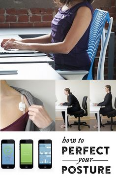 Lumo Lift is a tiny, wearable device that helps you achieve better posture. This innovative gadget and its full-featured app can train you to sit taller and may help you avoid health problems associated with slouching. (Tracks steps and calories, too.)